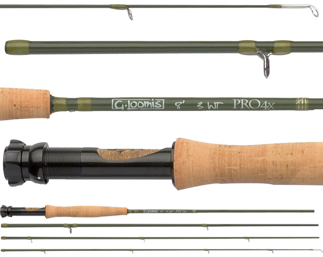 G loomis pro4x fly rod for Loomis fishing rods