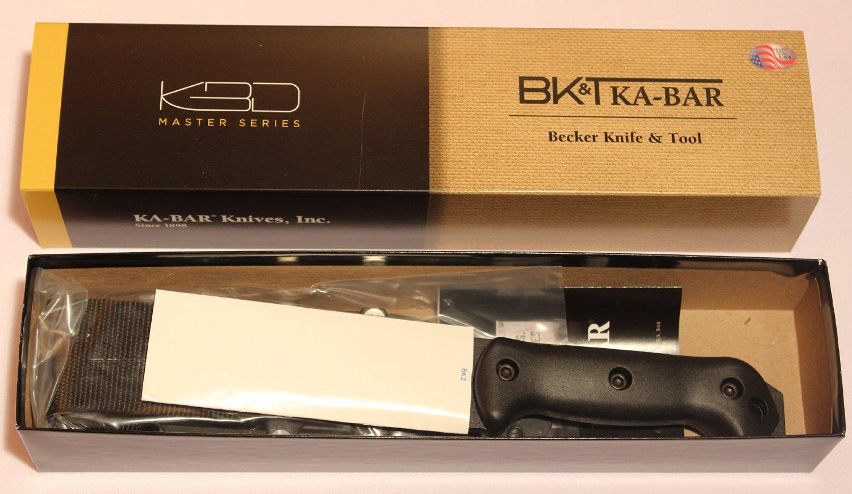 ka bar becker bk2 campanion fixed blade knife