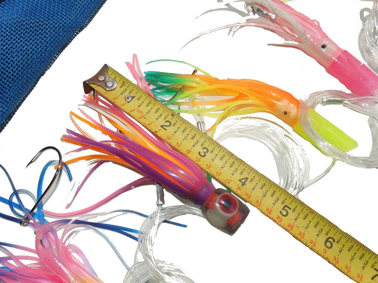 Saltwater fishing lures billfish bonanza 6 pack six for Offshore fishing tackle