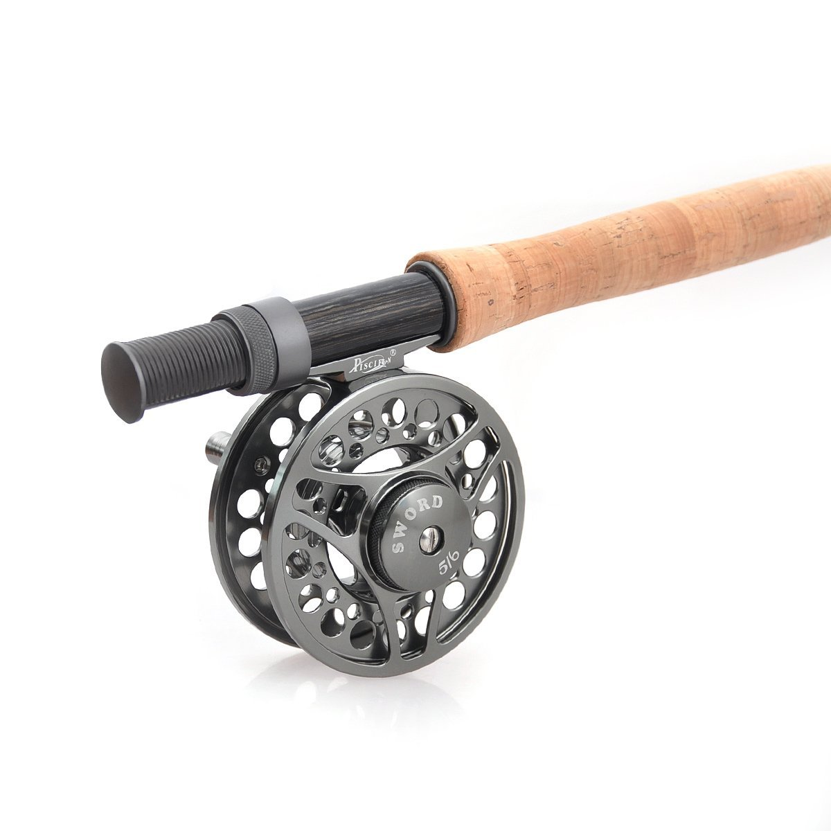 Piscifun fly fishing reel with cnc machined aluminum alloy for Trout fishing rod and reel