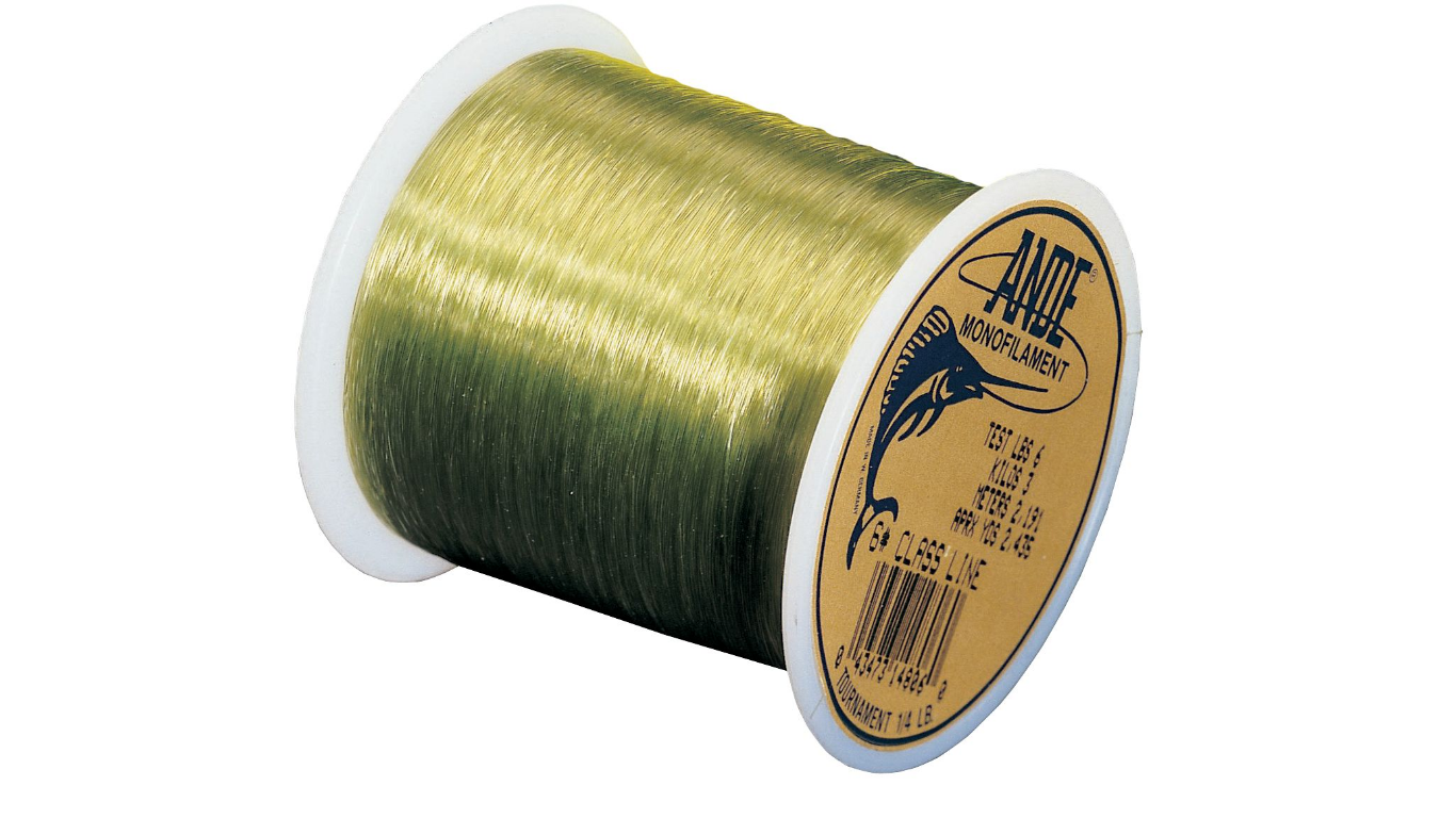 Ande tournament monofilament line 1 2 lb spool fishingnew for Ande fishing line