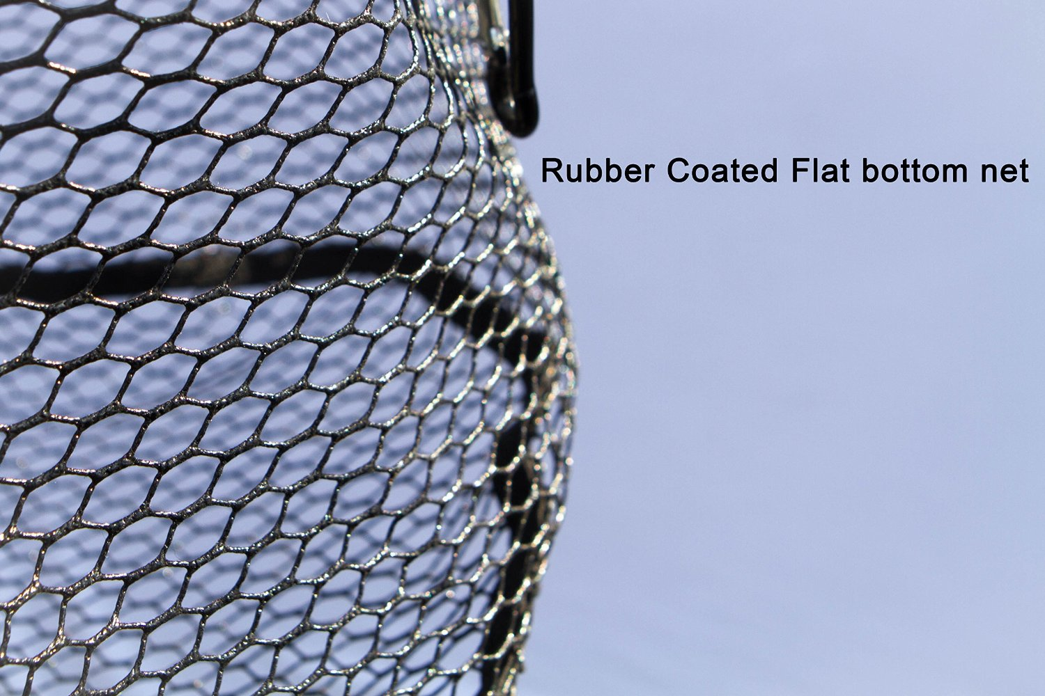 Action sports fly fishing nets fishingnew for Rubber fishing net