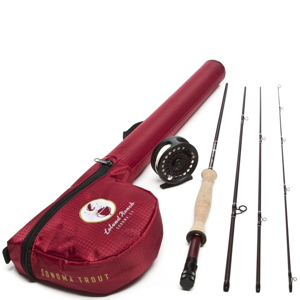 Leland rod co sonoma starter trout fly fishing combo for Best fishing combo