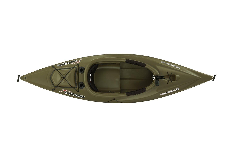 Sun dolphin excursion 10 foot sit in fishing kayak for 10 fishing kayak