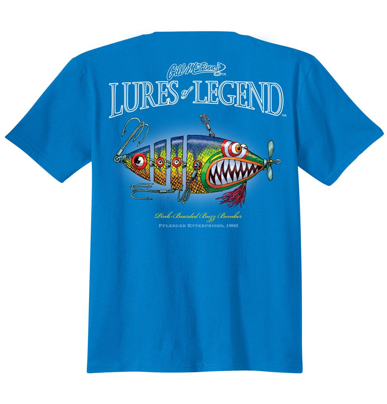 Fishing gill mcfinn 39 s humor printed t shirts fishingnew for Fishing t shirts
