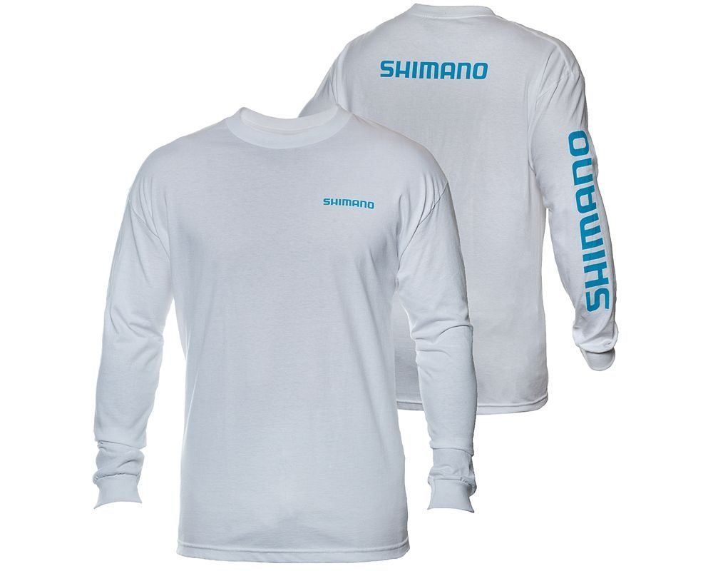 Shimano long sleeve t shirt fishingnew for Shimano fishing shirts