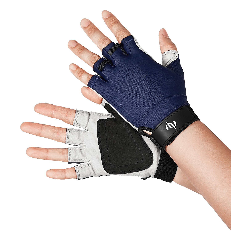 Sun protection fingerless gloves fishingnew for Fingerless fishing gloves