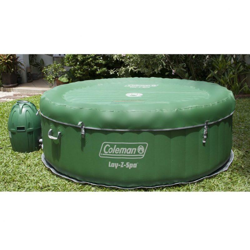 coleman lay z spa inflatable hot tub fishingnew. Black Bedroom Furniture Sets. Home Design Ideas