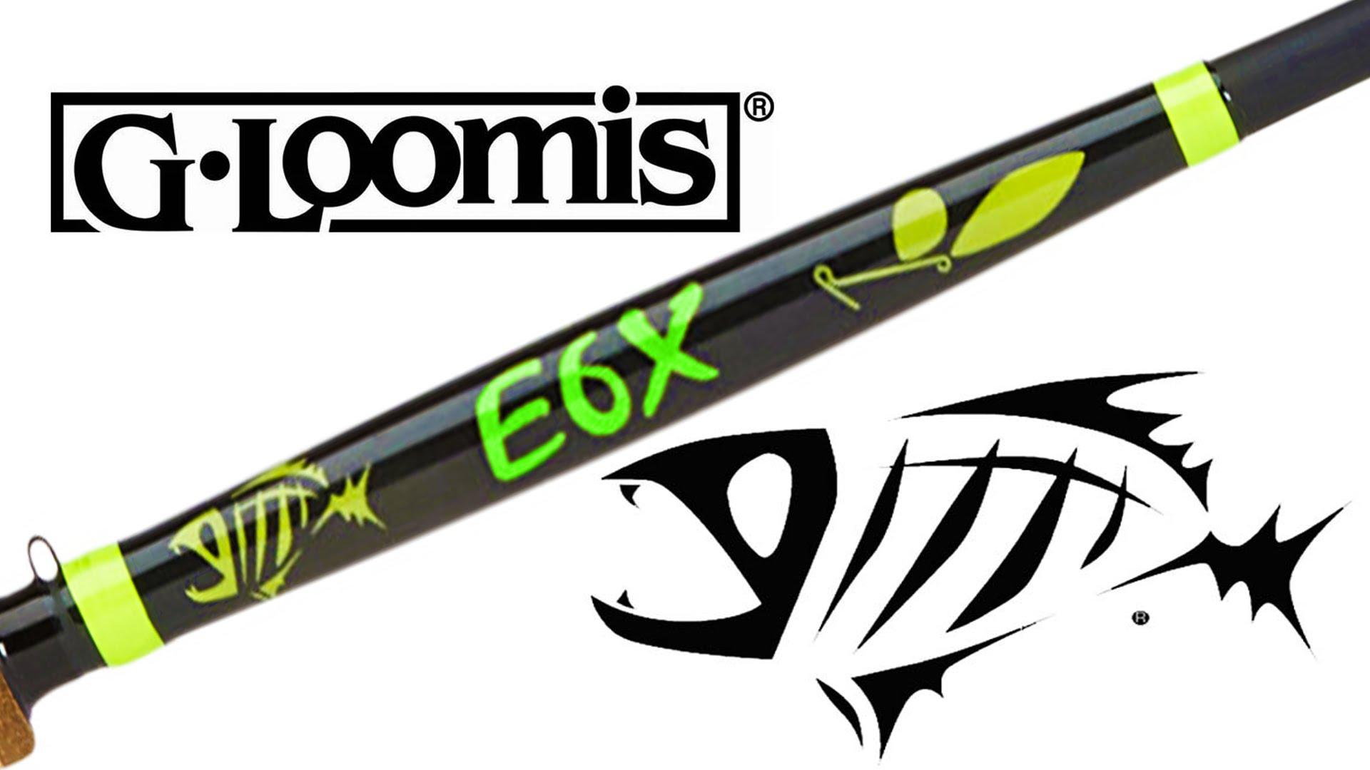G.Loomis E6X Inshore Casting Rod – fishingnew