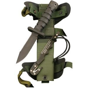 Ontario Asek Fixed Survival Knife Fishingnew