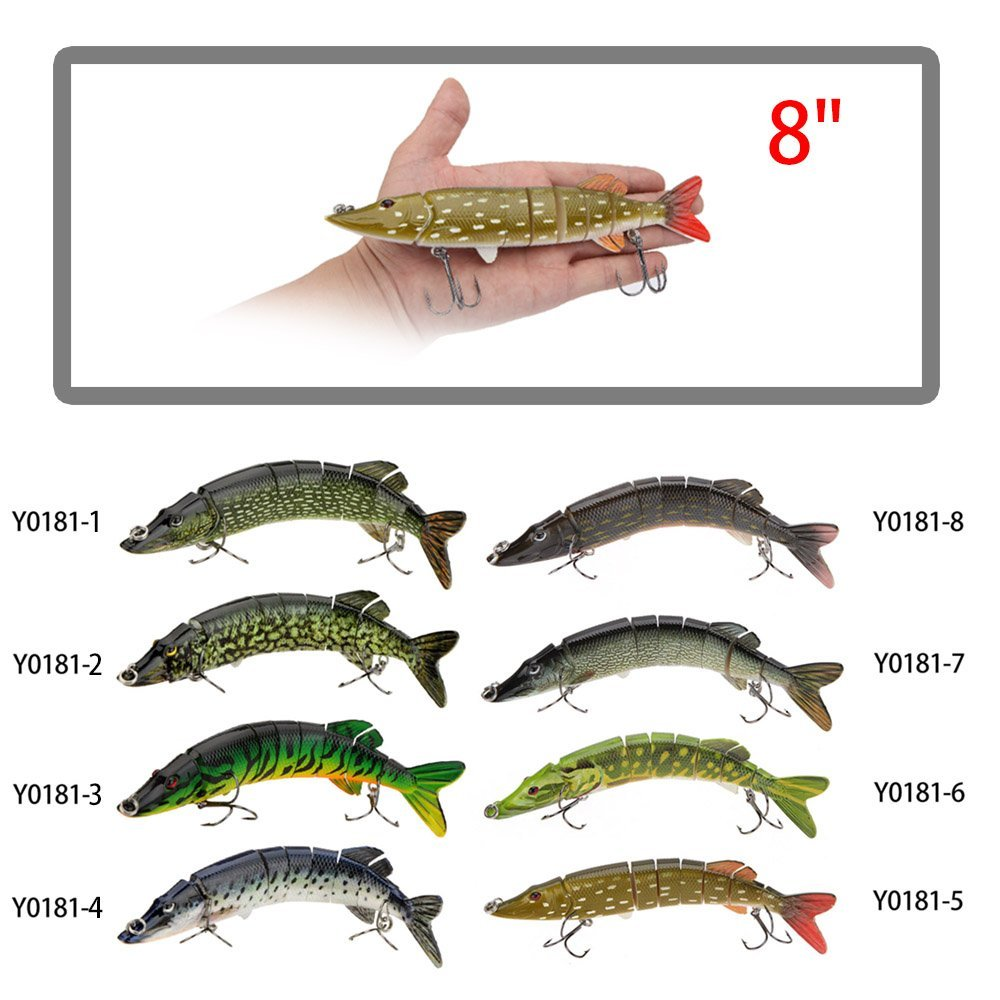 Muskie Fishing Lure Swimbait - fishingnew