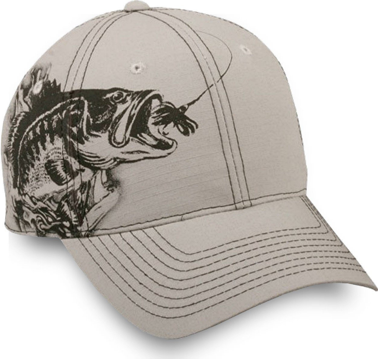 Fish For Bass In The Edge Cap