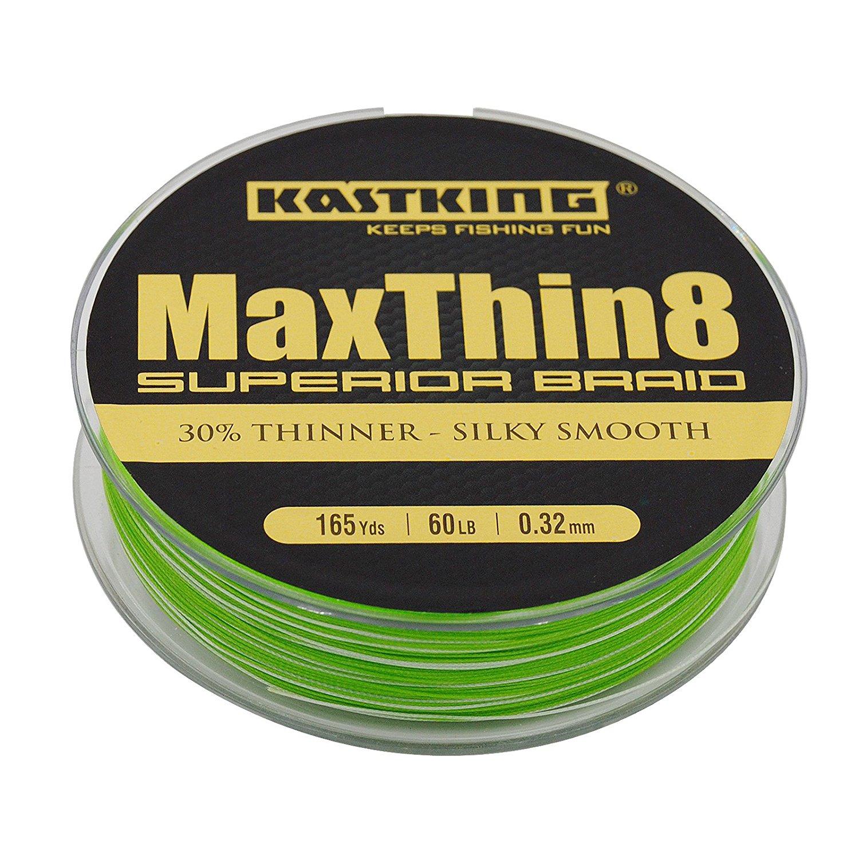 Kastking maxthin8 braid fishing line 30 thinner than for Braid fishing line