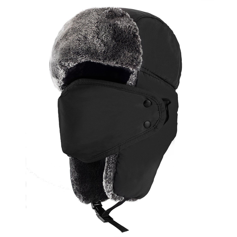 0800c2a8a Mysuntown Unisex Winter Trapper Trooper Hat