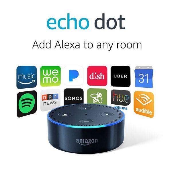 alexa echo dot 2nd generation fishingnew. Black Bedroom Furniture Sets. Home Design Ideas